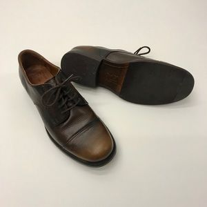 Frye dress shoes! Like new! Only worn once! US9.5D